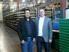 Visiting our Vancouver warehouse