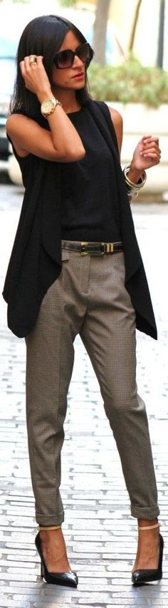 Smart and casual. Perfect outfit for work.