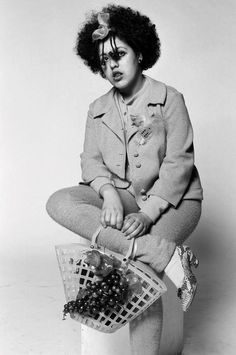 Poly Styrene (1957 - 2011). PVC punk with...