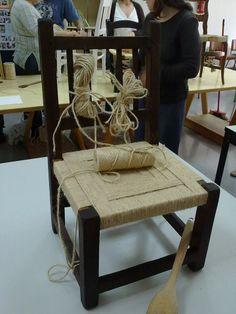 """Cadira """"de mirallets"""""""