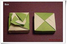 摺紙教學 幸運草 紙盒 盒身 - Eagle 摺紙 - Yahoo!奇摩部落格
