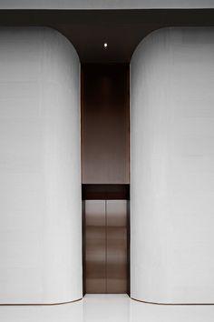 Lift Design, Commercial Architecture, Lobbies, Architecture Design, House, Furniture, Elevator Lobby Design, Home Decor, Corridor