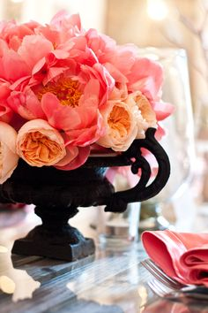 bridal shower flowers - Google Search