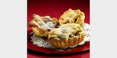 Taateli-valkosuklaiset joulutortut leivoksina
