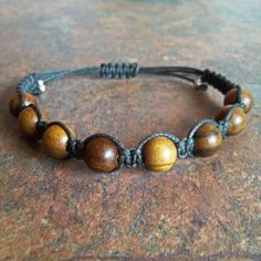 Sandalwood Healing Energy Bracelet ~ Sandalwood promotes good luck & success, helps develop intuition & spirituality, is considered protective and aids in meditation.