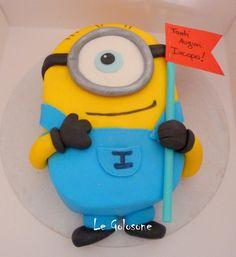 Minion cake Minions, 2d, Cakes, Desserts, Tailgate Desserts, Scan Bran Cake, Kuchen, Dessert, Postres