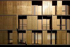 Bronze apartment complex