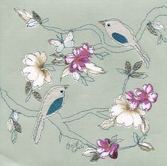 Claire Coles Refashioned Vintage wallpaper