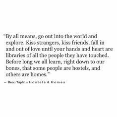hostels & homes...