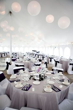 Art purple and grey wedding-ideas