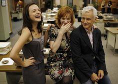 adorable - Elizabeth Moss, Christina Hendricks & John Slattery