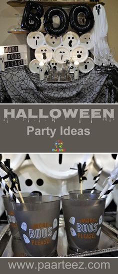 Looking for some Halloween party ideas for the kids? This party has - halloween club decorations