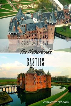 Many Dutch castles were built during the Middle Ages as defensive structures. Over the years, some of these were turned into comfortable homes where the aesthetics of the design became more important. Today, they are great tourist attractions