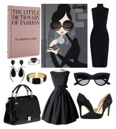"""Untitled #543"" by zendyro on Polyvore featuring Jessica Simpson, Miu Miu, Zimmermann, Jorge Adeler, Henri Bendel and Ice"