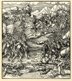 Artist: Beck, Leonhard, TItle: A battle, Date: ca. 1514-1516