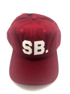 f74986d5 NIKE SB Skateboard INFIELD PRO CAP ADJUSTABLE HAT Red OSFM - NWT