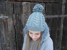 Pletená čiapka v šedej / anas - SAShE. Knitted Hats, Winter Hats, Knitting, Fashion, Moda, Tricot, Fashion Styles, Breien, Stricken