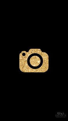 Black And Gold Aesthetic, Gold App, Themes App, Black App, Apple Icon, Iphone Wallpaper App, Iphone App Design, Ios App Icon, App Icon Design