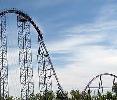 Bizarro, Six Flags, New England. I respect its epicness byt CURSE YOU BIZARRO. Never again.