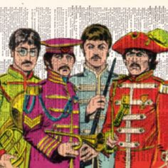 http://www.etsy.com/listing/86325473/the-beatles-vintage-dictionary-page?ref=pr_shop  The Beatles!! Love this!