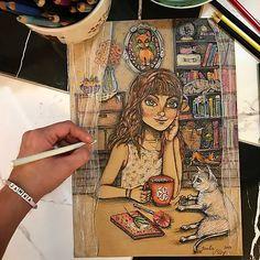 Mery-Jane / Zasnená Pastel, Cake, Crayon Art, Melting Crayons