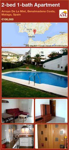 2-bed 1-bath Apartment in Arroyo De La Miel, Benalmadena Costa, Malaga, Spain ►€106,000 #PropertyForSaleInSpain