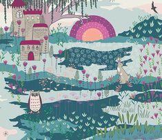 Flower Child Fabric Collection - Art Gallery Fabrics