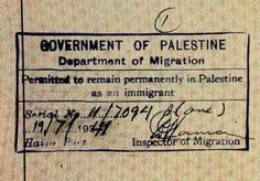 A picture speaks a 1000 words. 'Immigrant' in PALESTINE. Israel is a colonial abomination, this is what Palestinians were awarded for their generosity & hospitality. Stop believing Zionist lies. It was, is & will always be, Palestine.