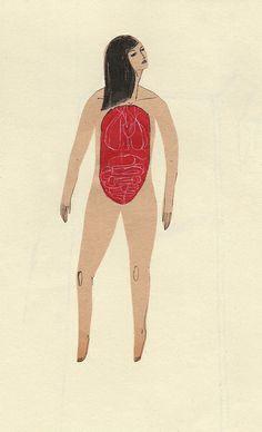autopsy woman by kaye blegvad