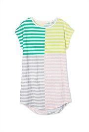 Block Stripe Dress