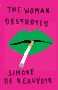 """Love the concept for these Simone de Beauvoir covers. """" Mendelsund draws from the Paris student-protest posters of 1968, with their blocky revolutionary graphics and hand-written text""""    Read more at PrintMag.com: The Best Book Art of 2012"""