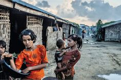 NOV 7, 2014 TOMAS MUNITA FOR THE NEW YORK TIMES Since 2012, Myanmar has placed more than 100,000 members of the Rohingya minority in camps like this one, in Rakhine State.