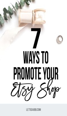 Learn how to promote your etsy shop 7 different ways! Craft Business, Business Tips, Online Business, Business Essentials, Serious Business, Starting An Etsy Business, Growing Business, Blogging, Etsy Seo