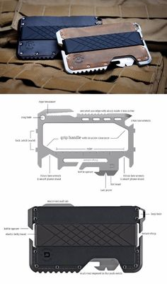 Dango Tactical EDC Everyday Carry Wallet with Multi Tool Card #wallet