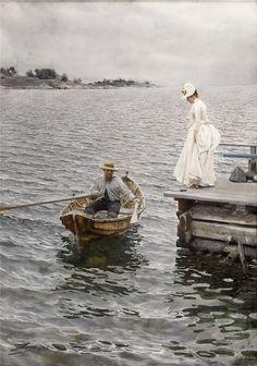Anders Zorn - шведский живописец. Обсуждение на LiveInternet - Российский Сервис Онлайн-Дневников