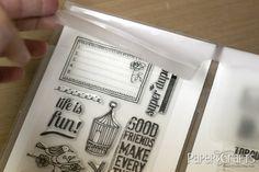Stamp Storage idea - Jennifer McGuire