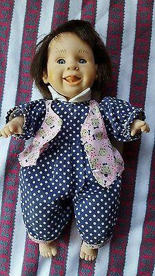"Gigo happy kids 8.5"" bean bag palm doll series 2"