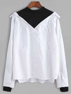 2 in 1 blouse