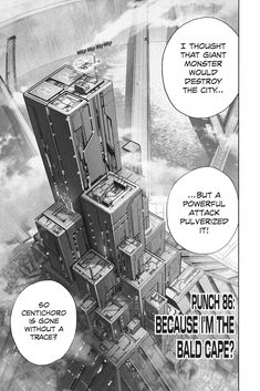 One Punch Man 86 Opm Manga, One Punch Man, Thoughts, Ideas