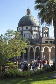 _34C9565_Itamar Grinberg: Pilgrims at the Mount of Beatitudes