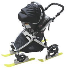 Polar Stroller Skis for Strollers & Bike Trailers Ski Hill, Winter Survival, Moving To Florida, Fat Bike, Long Winter, Dog Park, Cross Country, Skiing, Baby Strollers