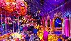 revelry event designers and sonia sharma disney-inspired party Festa Tema Arabian Nights, Arabian Nights Prom, Arabian Nights Theme, Arabian Theme, Moroccan Party, Moroccan Theme, Wedding Night, Dream Wedding, Wedding Reception