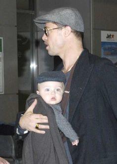 Brad Pitt, Angelina Jolie and kids arrive in Tokyo