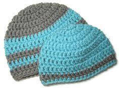 CLEARANCE Preemie/Newborn Hat Set Crochet Baby Hat by HookAndCable