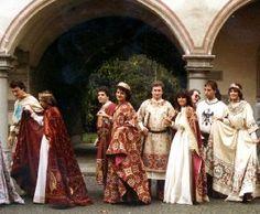 """Costumes worn for the """"Carroccio"""", Legnano Italy"""