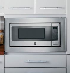 Built-In Microwave with Trim Kit.