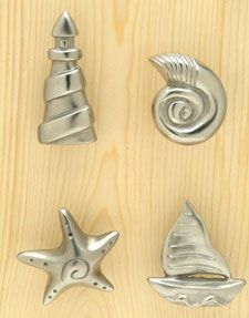 Carol Beach Knobs Trendy decorative kitchen cabinet knobs, pulls, handles and hardware. Knob and pull designs fiesta knobs, colorful knobs,g...