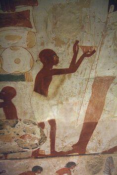 Tumba de Nakht TT52 , Sheikh Abd el-Qurna , Luxor.