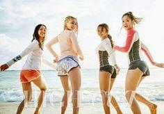 SISTAR get ready for summer! - Latest K-pop News - K-pop News | Daily K Pop News