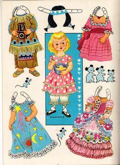 Storyland Dolls | Paper Dolls - Fairy Tales, Fantasy & Sci-Fi | Pinte ...